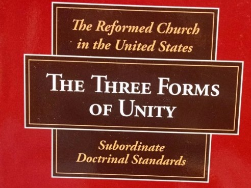 Omaha Reformed Church holds to the Three Forms of Unity